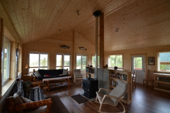 Alaska fly fishing lodge